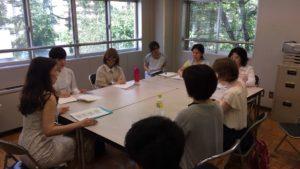 2015年盲学校での瞳コンシャスカラーアカデミー講座
